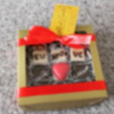 Caixa bombom personalizado quadrado