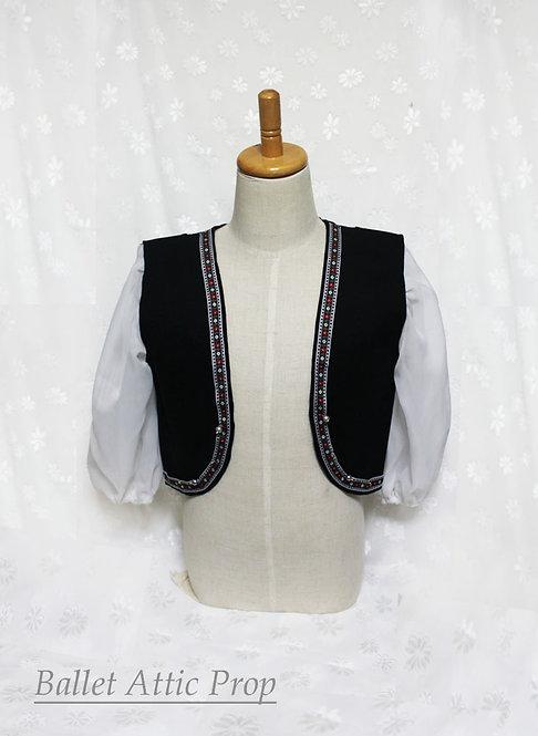 キャラクタダンス用袖付きベスト 子供用