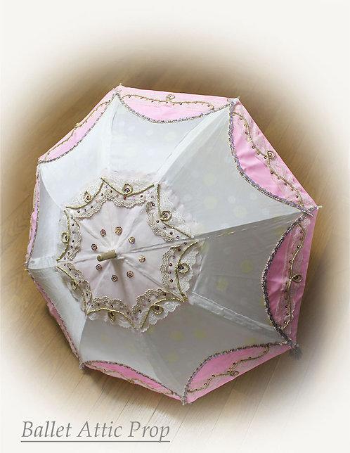 飾り傘 ピンク
