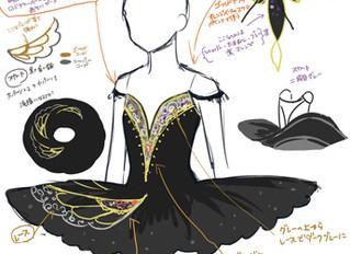 バレエ・黒鳥を作るー1