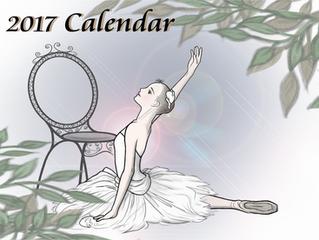 2017 Calendarメイキング
