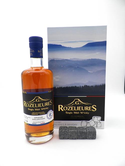 Coffret-Whisky / Rozelieures, Origine Collection + Pierres à Whisky