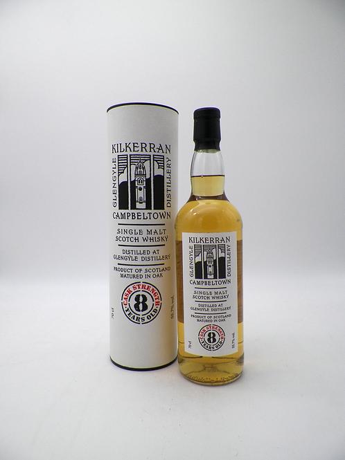 Whisky / Glengyle, Kilkerran, 8ans, Brut de Fût