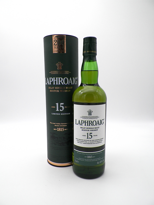 Whisky / Laphroaig, 15 ans