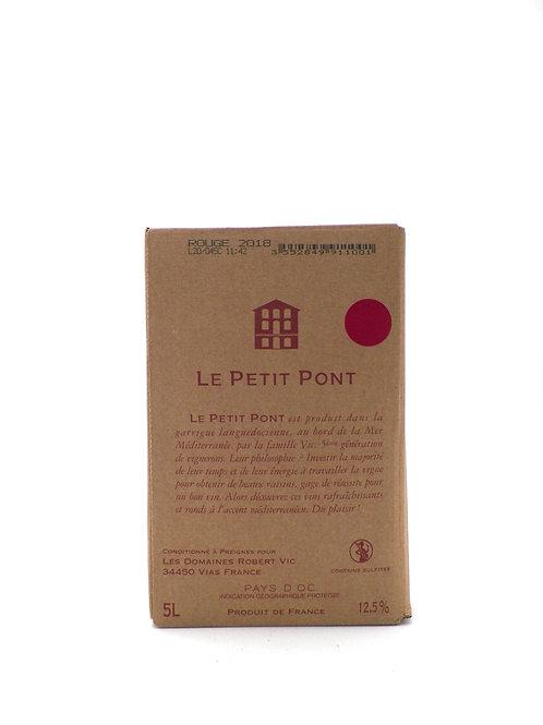IGP Pays d'Oc / Petit Pont, Rouge
