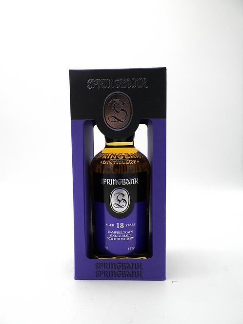 Whisky / Springbank, 18ans