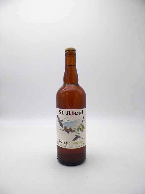 St Rieul / Printemps, Blonde, 75cl