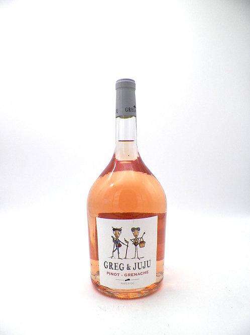 Magnum / IGP Pays d'Oc / Greg et Juju, Pinot Grenache, 2018