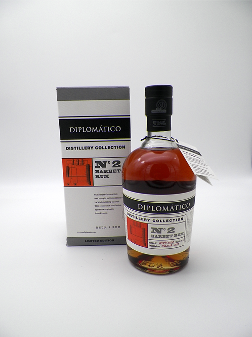 Rhum-Venezuela / Diplomatico, Barbet Rum, N°2