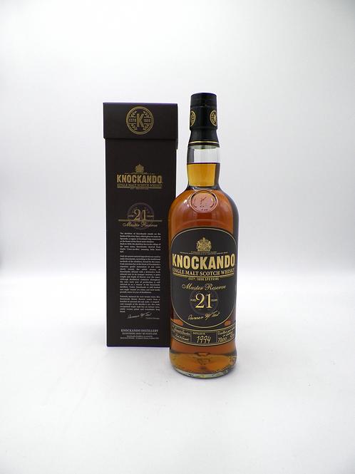 Whisky / Knokando, Master Reserve, 21ans