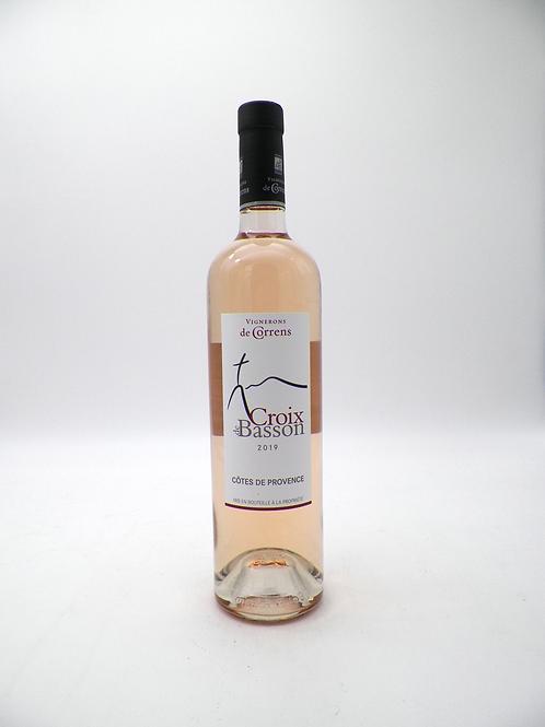Côtes de Provence / Vignerons de Correns, Croix de Basson, 2020