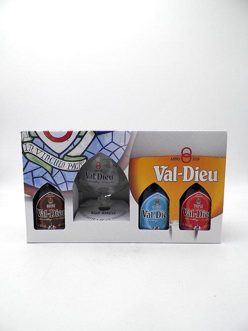 Coffret / Val-Dieu / 3X33cl +1verre