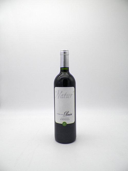 """Bordeaux / Château Pénin, Cuvée """"Natur"""", 2017"""