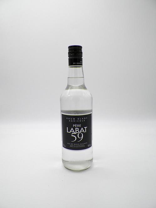 Rhum-Guadeloupe / Père Labat, Blanc, 59%