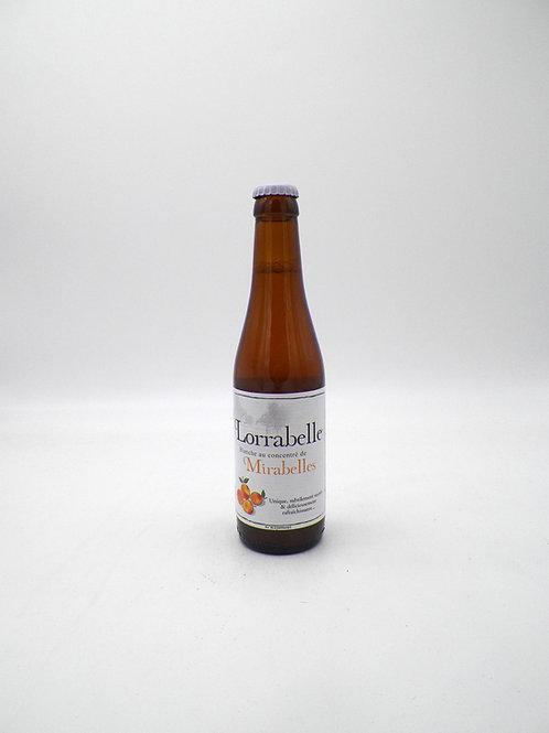 Lorrabelle / Boisson à base de Bière et de Concentré de Mirabelles