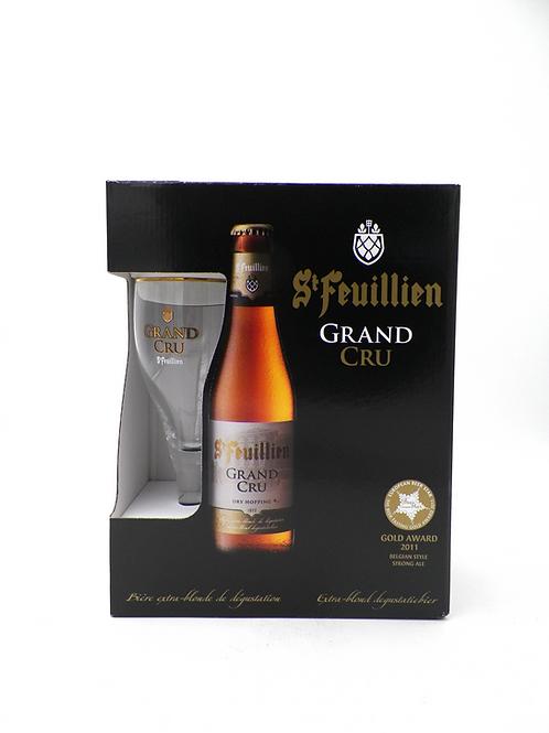 Coffret / St-Feuillien Grand-Cru / 4X33cl +1verre