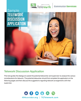 Sample Telework Discussion Application.p