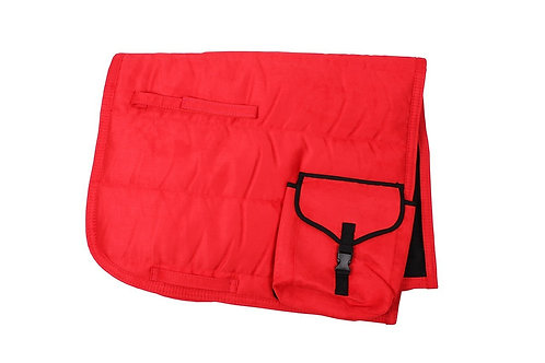 Puff pad with Pockets