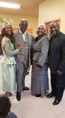 Anniversary for VPE Pastor Dwight & First Lady Phyllis Williams