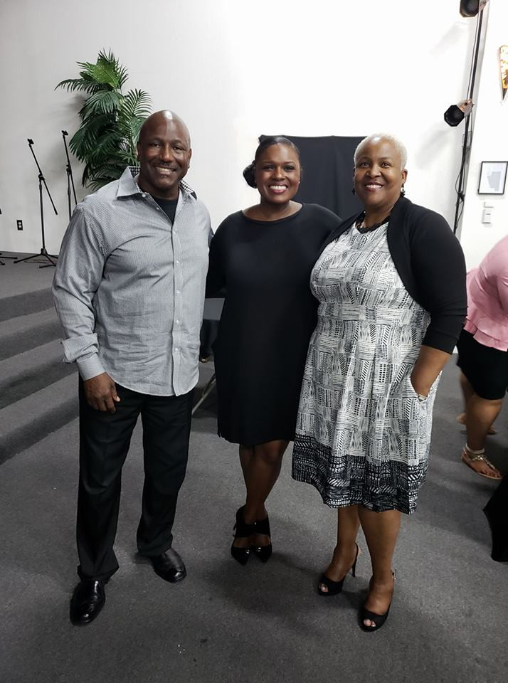 Pelate Bishop Turner, Lady Trena and Deborah Joy Winans