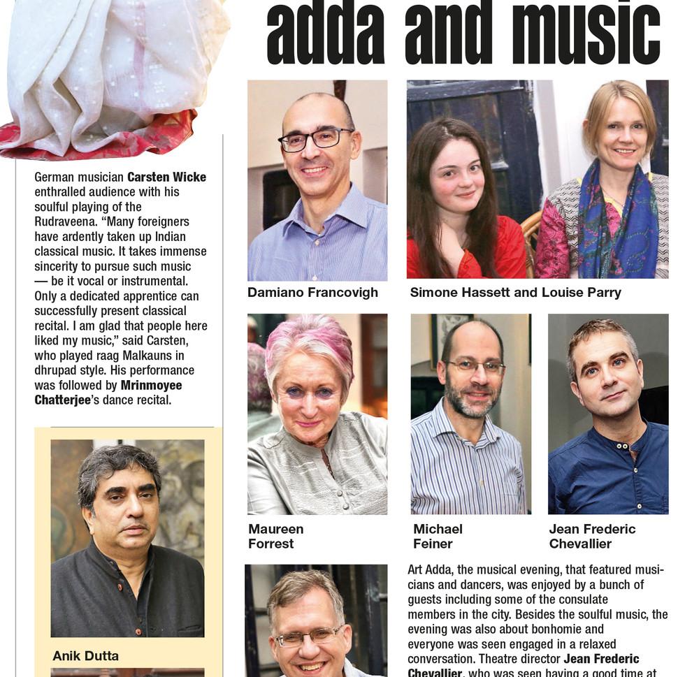 Art Adda Kolkata 2017