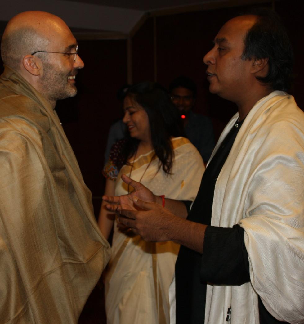 Gunijan Sabha Verse 11 - New Delhi 2016 -with Ustad Wasifuddin Dagar
