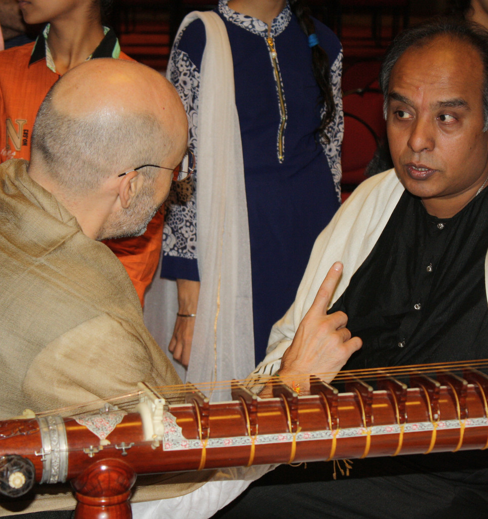 Gunijan Sabha Verse 11 - New Delhi 2016 - with Ustad Wasifuddin Dagar