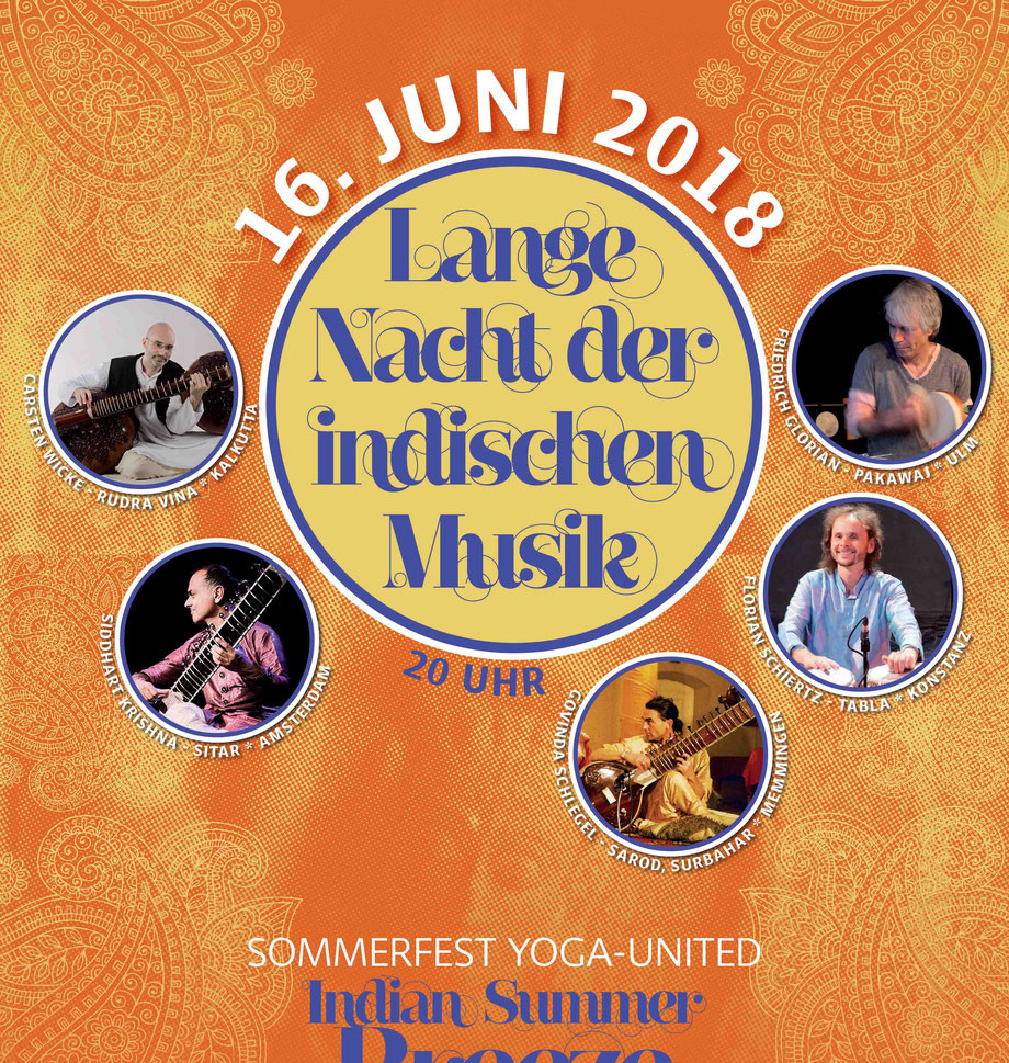 Lange Nacht der Indischen Musik 16th June 2018