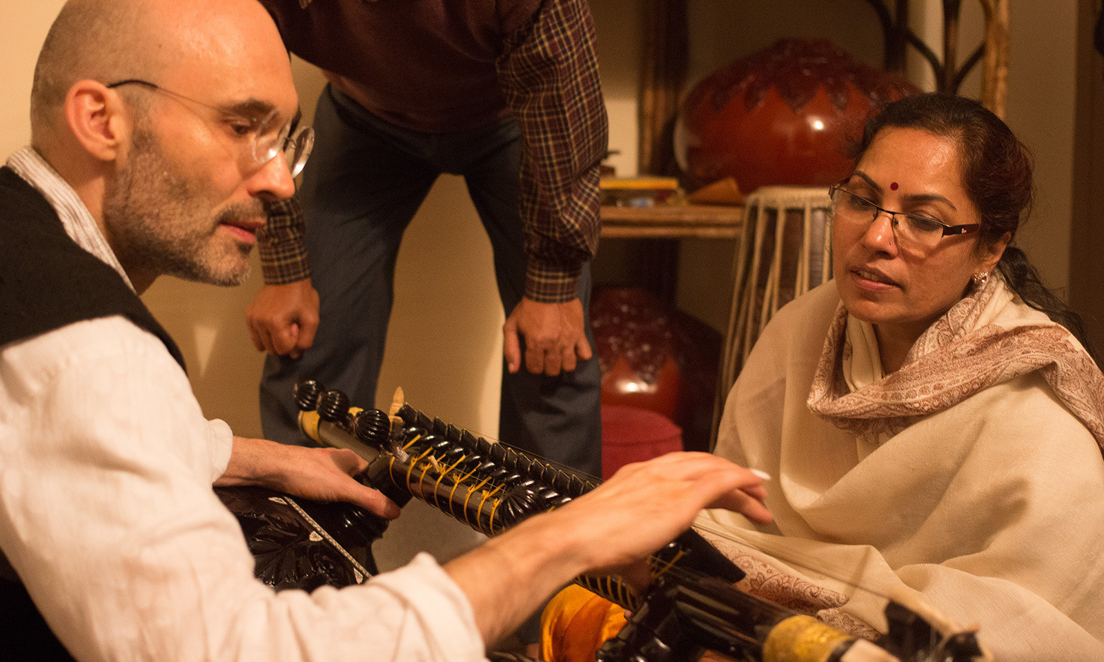Veena Baithak 'The Sound of Silence' 2016 with Jyoti Hedges