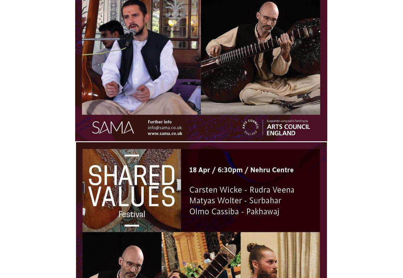 Rudra Veena Concerts in London 2019
