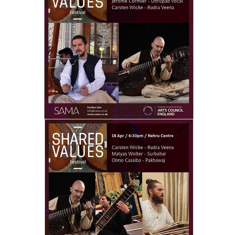 Rudra Veena Concerts in London 2019