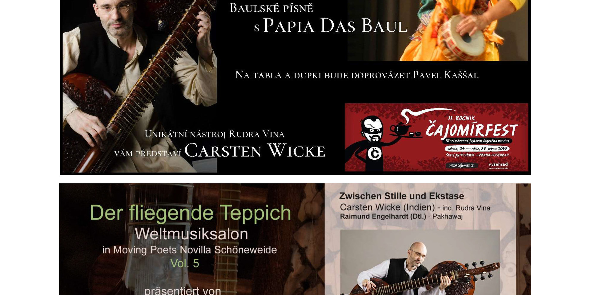 Rudra Veena Concerts in Berlin and Prague 2019