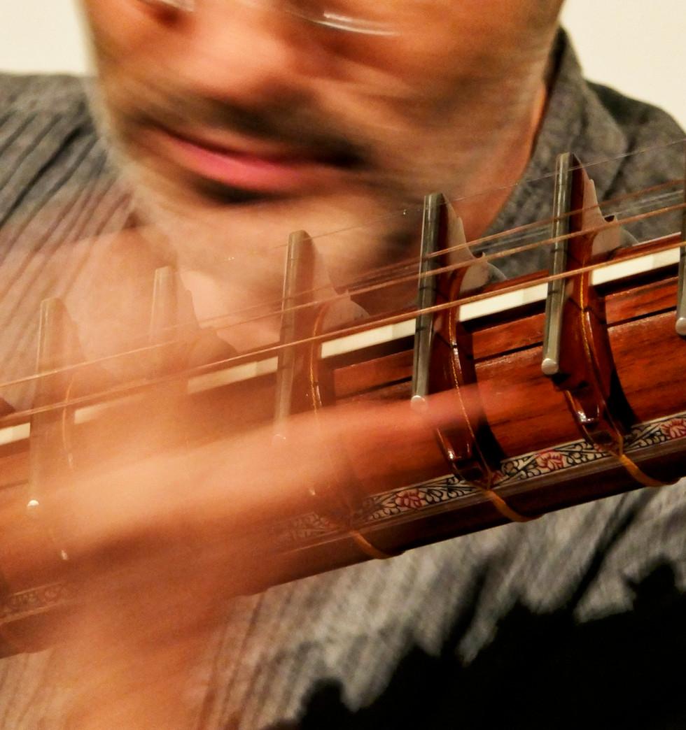 Rudra Veena concert at the 10th Kölner Indienwoche