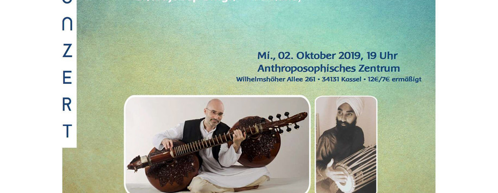 Rudra Veena Concert in Kassel 2nd October 2019