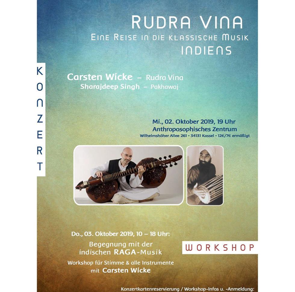 Rudra Veena Concert in Kassel 2nd October 2019