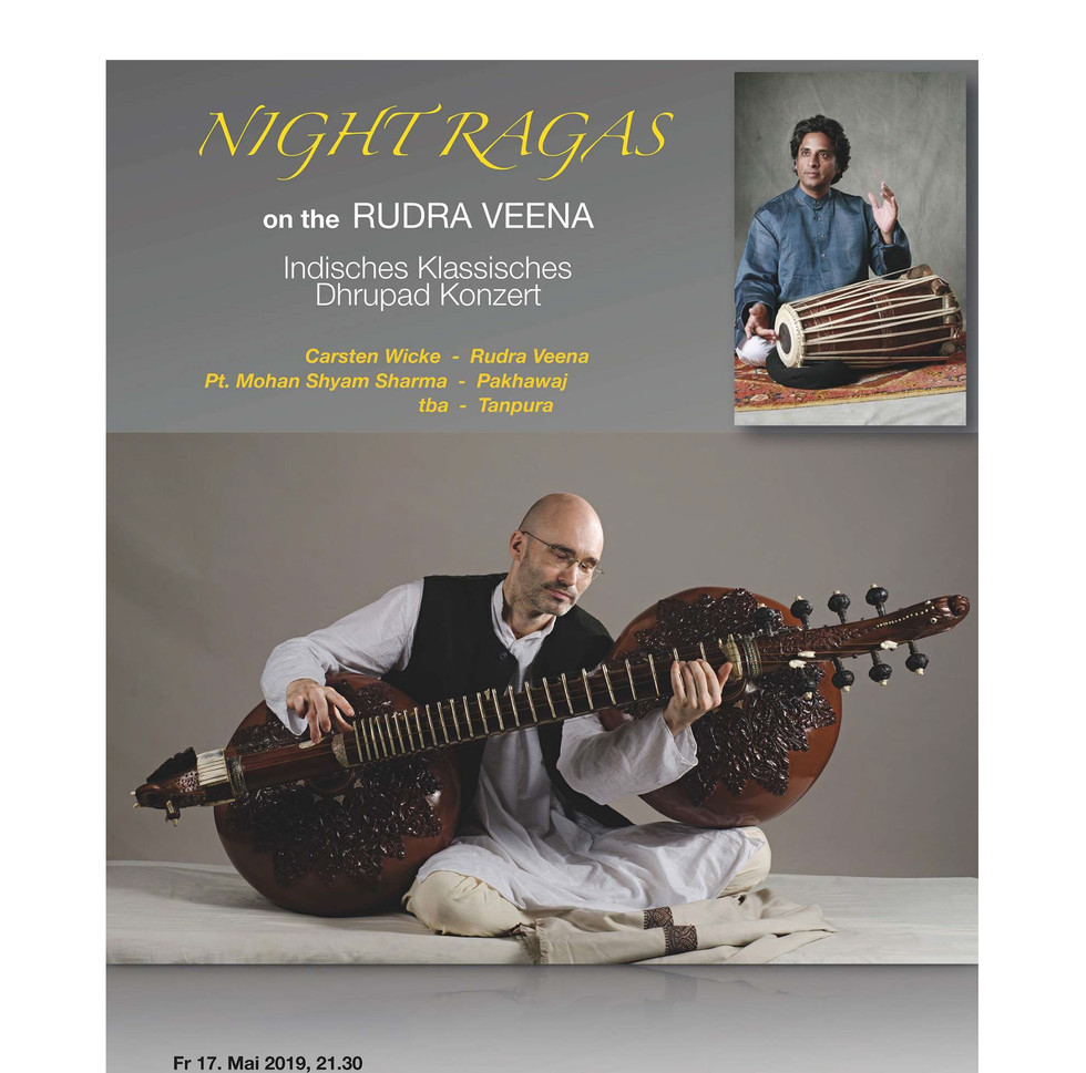 Rudra Veena Concert in Vienna 17th May 2019