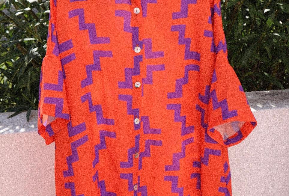 Camisa Curta Tropical V3