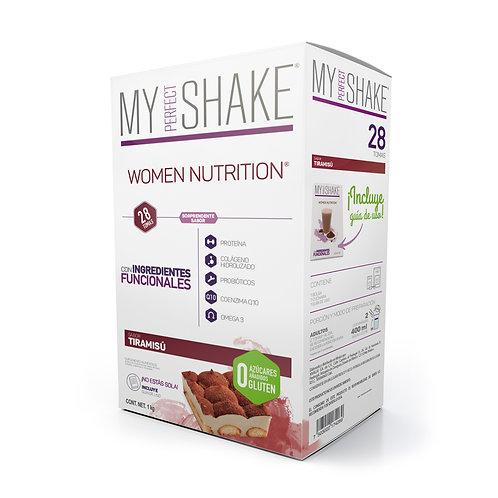 Women Nutrition Tiramisú