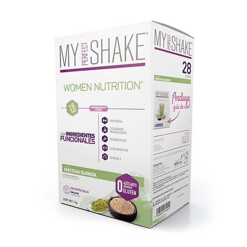Women Nutrition Matcha Quinoa