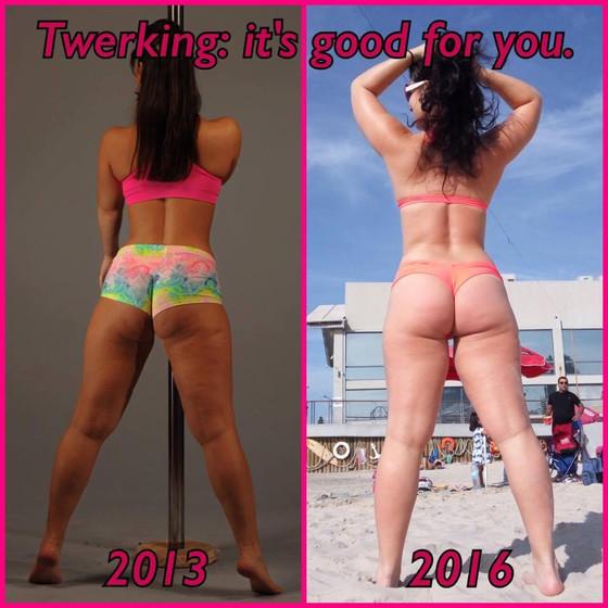 Twerking: it's good for you.