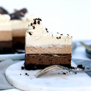 Cheesecake Trois Chocolats