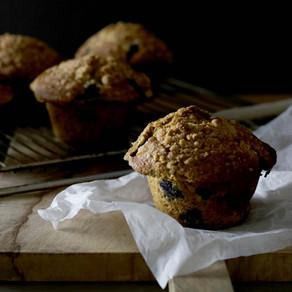 Muffins XXL à la Myrtille
