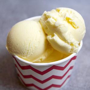Glace vanille maison avec sorbetière (Gelato)