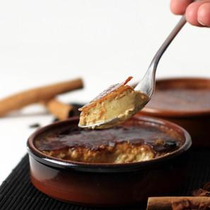 Crème brûlée pain d'épices