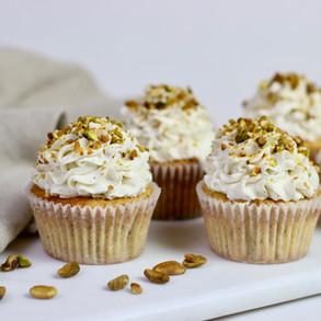 Cupcakes Abricot Pistache & Camomille