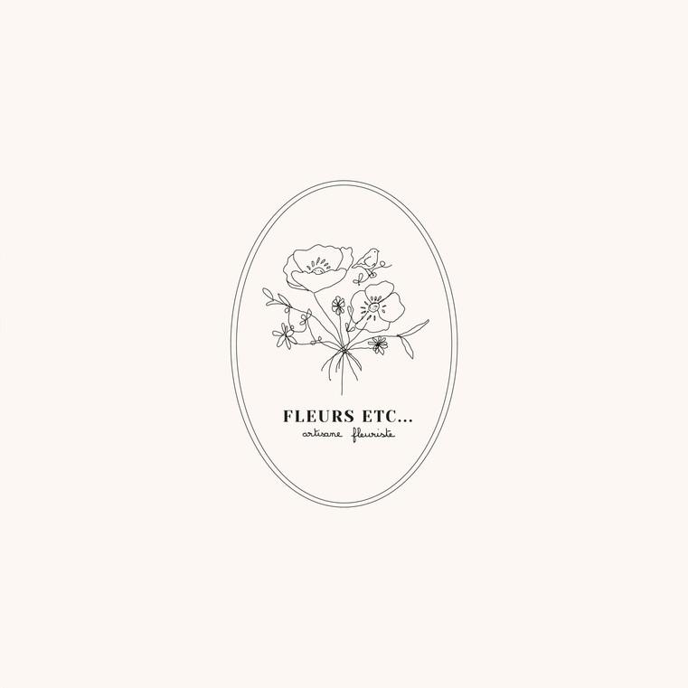 logo fleurs etc