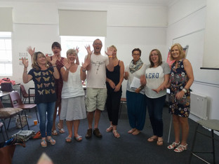 NLP Learners Celebrating