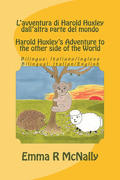 Bilingual Italian/English version of Harold  Huxley's Adventure Down Under