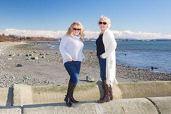 Lynn Robinson and Emma McNally