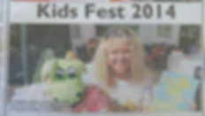 Emma R McNally - Kids Fest 2014, Yellow Advertiser Front Page